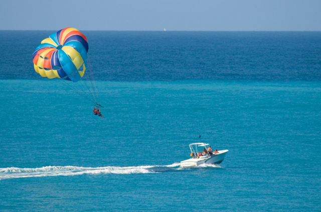 parasailing in fort walton beach